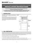 R-1510 | R-1511 | R-1512 | R-1514 Installation Instructions