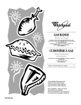 Whirlpool GS563LXSQ1 Use & care guide