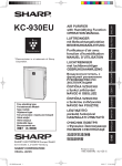 Sharp KC-930EU Specifications