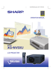 Sharp XG-NV5XU Specifications