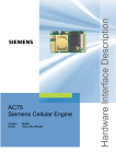 Siemens AC75 Specifications