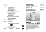Canon elura10 Instruction manual