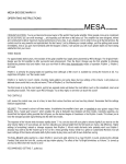 Mesa/Boogie pmn Operating instructions