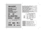 Sharp XL-DK257NH Specifications