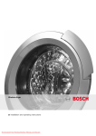 Bosch WKD28540EE Operating instructions