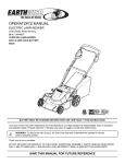 EarthWise 60220 Operator`s manual