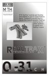 MTHTrains RealTrax O-3 Operating instructions