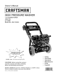 Craftsman 580.752270 Specifications
