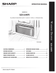 Sharp KB-6100NS Installation manual