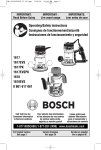 Bosch 1617EVSPK Specifications
