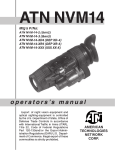 American Technologies Network ATN NVM14 Technical information