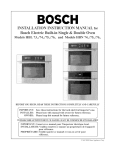 Bosch HBL 73 Instruction manual