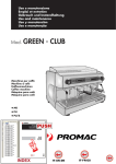 Promac Green PU Specifications
