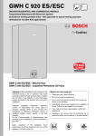 Bosch GWH C 920 ESC Specifications