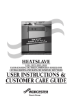 Bosch HEATSLAVE 12/14 Operating instructions
