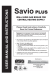 Boyertown Furnace Savio User manual