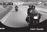 Cardo Systems SCALA RIDER FM - User guide