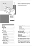 Casio QV-200 Owner`s manual