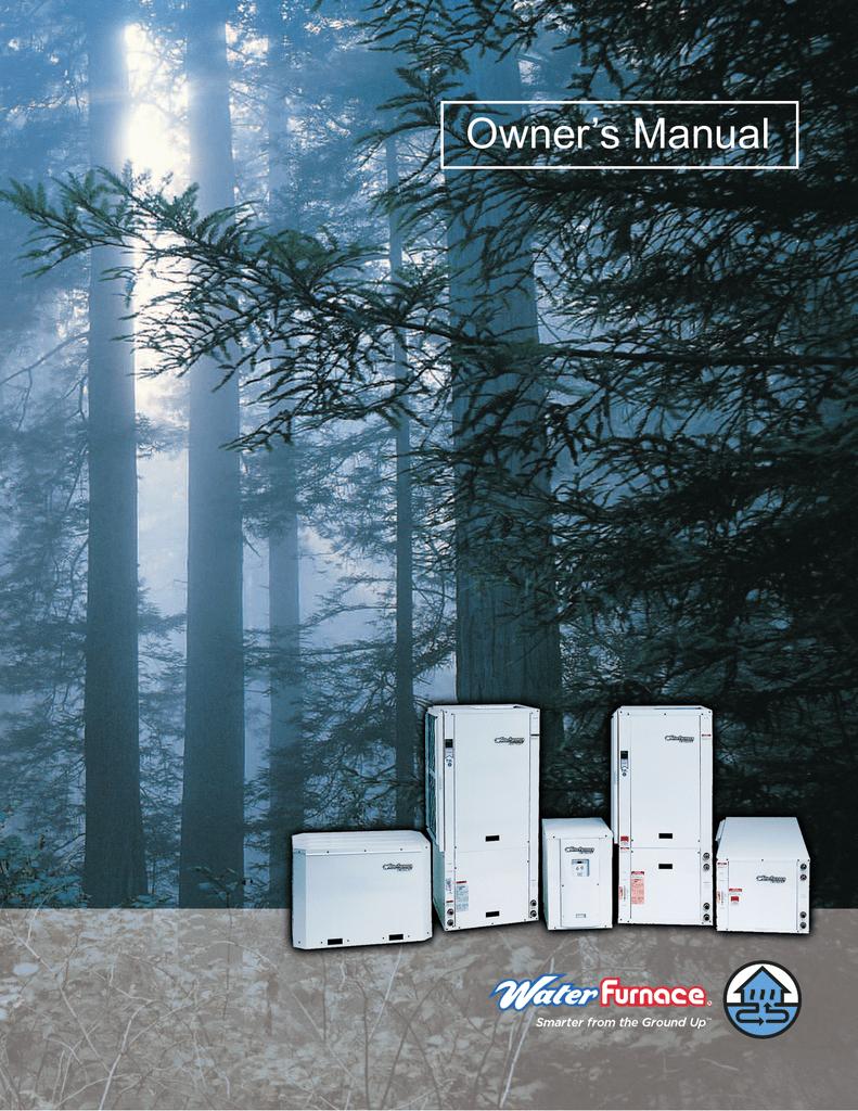 Ta32h01 Thermostat Manual Wiring Diagram Waterfurnace Om2005a Owner S Rh Manualzilla Com