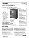 Siemens FIREFINDER-XLS Specifications