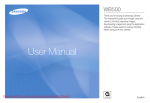 Samsung WB500 User manual