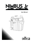 Chauvet NIMBUS User manual