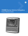 Motorola VC6000 Series Specifications