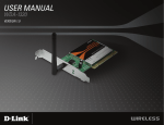 D-Link WDA-1320 User manual