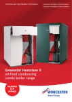 Bosch GREENSTAR HEATSLAVE II EXTERNAL 12/18 Technical data