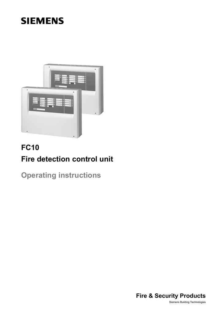 siemens fc10 operating instructions