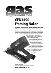 Axminster GFN3490 Specifications