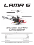Century Helicopter Products CENTURY LAMA 6 Specifications