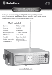 Radio Shack 20-197 User`s guide