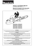 Makita DCS6420 Owner`s manual