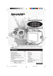 Sharp 13N-M100 Operating instructions