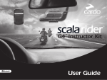 Cardo Systems SCALA RIDER G4 User guide