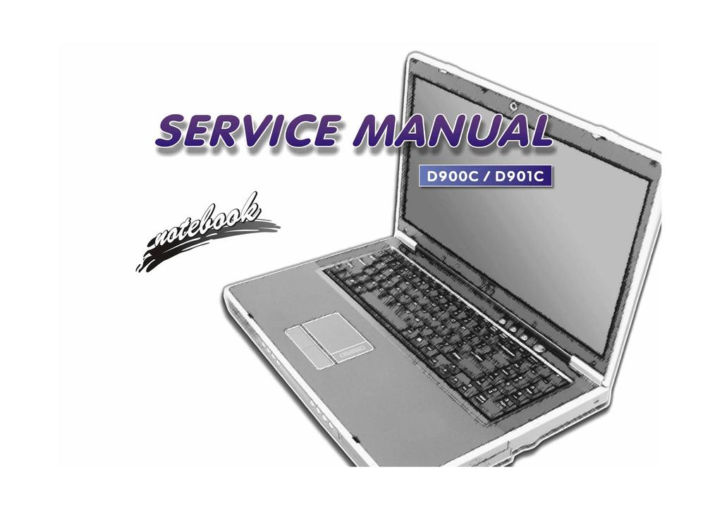 Clevo D900C Service manual