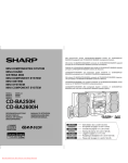 Sharp CD-BA250H Specifications