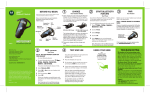 Motorola H800 - Headset - Over-the-ear User`s guide