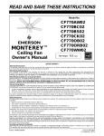 Emerson CF770ORB02 Owner`s manual