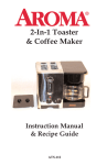 Aroma ATS-112 Instruction manual