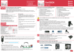 Beam SatDOCK RST980 Installation guide
