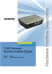Siemens GSM 900, GSM 1900 Specifications
