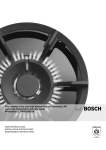 Bosch PPQ716B21A Operating instructions