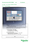 Schneider Electric FX 3NET User guide
