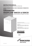 Worcester 440CDi Instruction manual