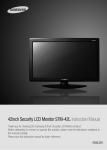 Samsung STM-42L Instruction manual