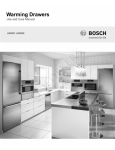 Bosch HWD57 Product data
