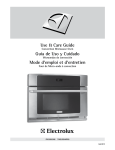 Electrolux TINSLB024MRR0 Use & care guide