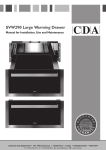 CDA SVW290 Specifications